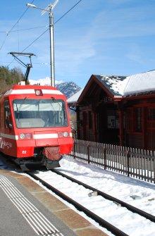 Gares Mont-blanc Express