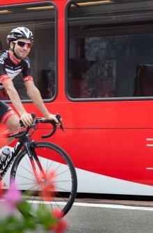 Train et vélo