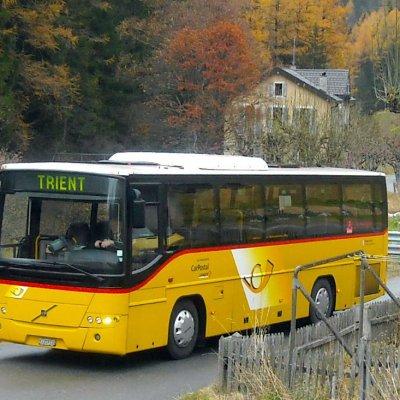 Bus et navette de Trient
