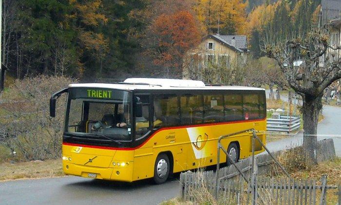 Bus navette Châtelard-Frontière - Col de la Forclaz