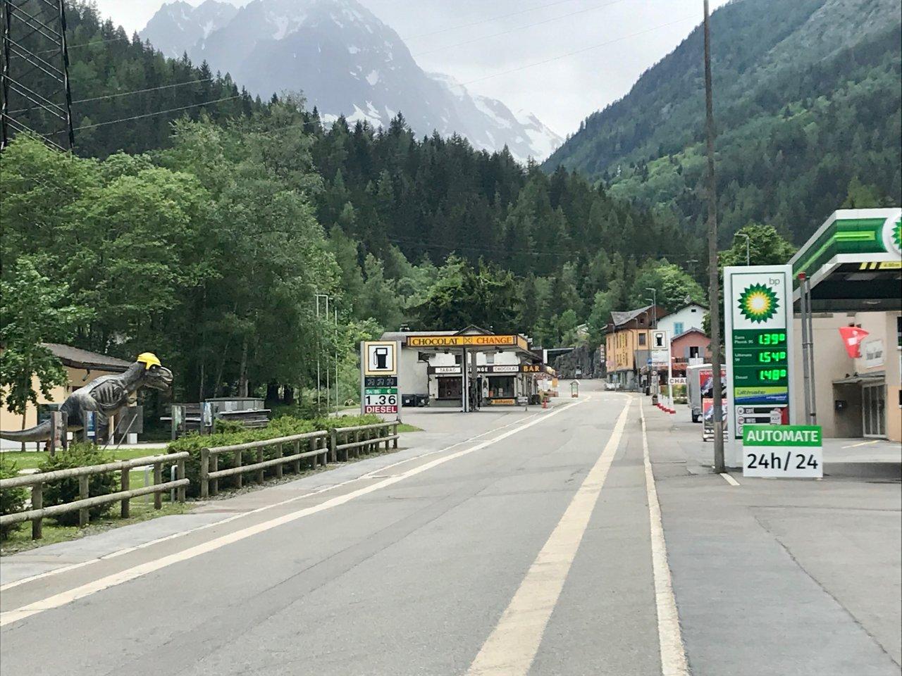 Le Châtelard-frontière
